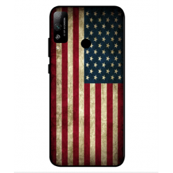 Coque Vintage America Pour Huawei Honor Play 4T