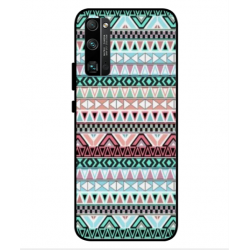 Funda Bordado Mexicano Para Huawei Honor 30 Pro Plus