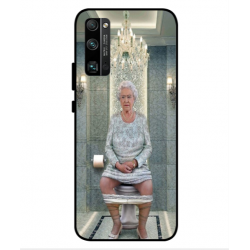 Huawei Honor 30 Pro Plus Her Majesty Queen Elizabeth On The Toilet Cover