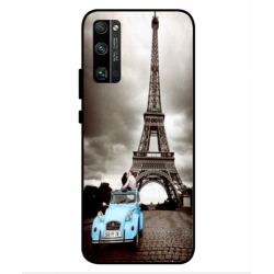 Huawei Honor 30 Pro Vintage Eiffel Tower Case