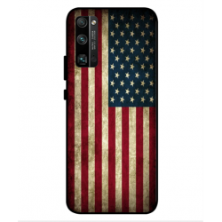 Coque Vintage America Pour Huawei Honor 30 Pro