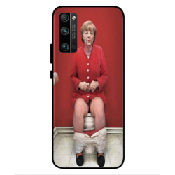 Huawei Honor 30 Pro Angela Merkel On The Toilet Cover