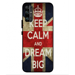 Huawei Honor 30 Keep Calm And Dream Big Cover