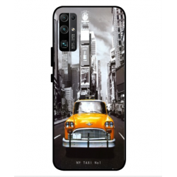 Coque New York Taxi Pour Huawei Honor 30