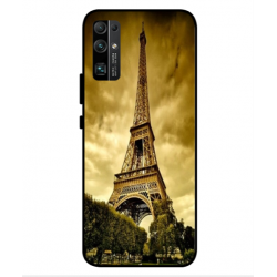 Coque Protection Tour Eiffel Pour Huawei Honor 30