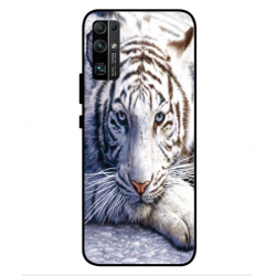 Coque Protection Tigre Blanc Pour Huawei Honor 30