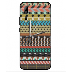 ZTE Axon 10s Pro 5G Mexican Embroidery With Clock Cover