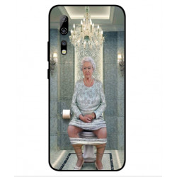 ZTE Axon 10s Pro 5G Her Majesty Queen Elizabeth On The Toilet Cover