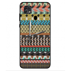 ZTE Blade 20 Mexican Embroidery With Clock Cover