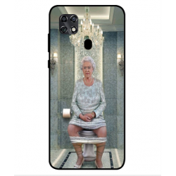 ZTE Blade 20 Her Majesty Queen Elizabeth On The Toilet Cover
