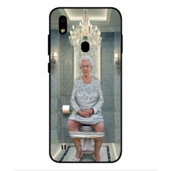 ZTE Blade A7 Prime Her Majesty Queen Elizabeth On The Toilet Cover