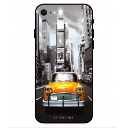 Carcasa New York Taxi Para iPhone SE 2020
