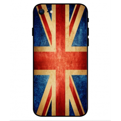 Coque Vintage UK Pour iPhone SE 2020