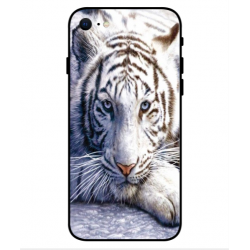Coque Protection Tigre Blanc Pour iPhone SE 2020