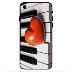 Coque I Love Piano pour iPhone SE 2020