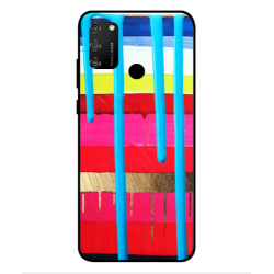 Huawei Honor 9A Brushstrokes Cover