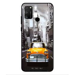 Coque New York Taxi Pour Huawei Honor 9A