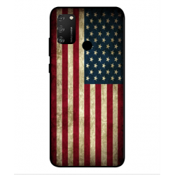 Coque Vintage America Pour Huawei Honor 9A
