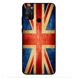Coque Vintage UK Pour Huawei Honor 9A