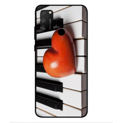 Coque I Love Piano pour Huawei Honor 9A