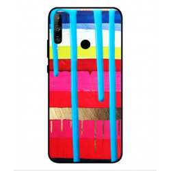 Huawei Honor 9C Brushstrokes Cover