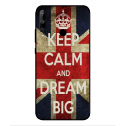 Huawei Honor 9C Keep Calm And Dream Big Cover