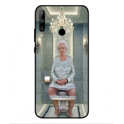 Huawei Honor 9C Her Majesty Queen Elizabeth On The Toilet Cover