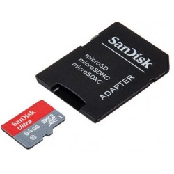 Sandisk Ultra Micro SDXC Card 64GB Class 10 Für Huawei Honor 9S