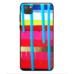 Huawei Honor 9S Brushstrokes Cover