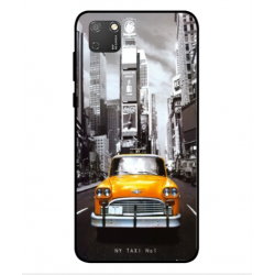 Coque New York Taxi Pour Huawei Honor 9S