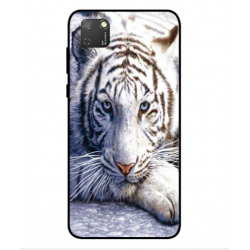 Coque Protection Tigre Blanc Pour Huawei Honor 9S