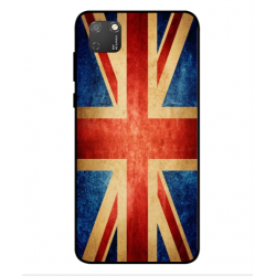 Funda Vintage UK Para Huawei Honor 9S