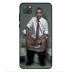 Funda Obama En El Baño Para Huawei Honor 9S