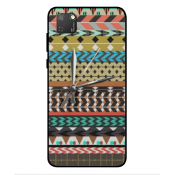 Coque Broderie Mexicaine Avec Horloge Pour Huawei Honor 9S