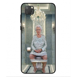 Huawei Honor 9S Her Majesty Queen Elizabeth On The Toilet Cover