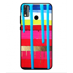 Huawei Honor 9X Lite Brushstrokes Cover