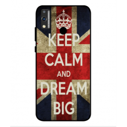 Huawei Honor 9X Lite Keep Calm And Dream Big Cover