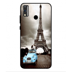 Huawei Honor 9X Lite Vintage Eiffel Tower Case