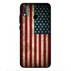 Coque Vintage America Pour Huawei Honor 9X Lite