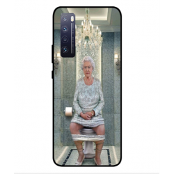 Huawei Nova 7 5G Her Majesty Queen Elizabeth On The Toilet Cover