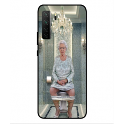 Huawei Nova 7 SE Her Majesty Queen Elizabeth On The Toilet Cover