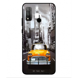 Coque New York Taxi Pour Huawei P Smart 2020