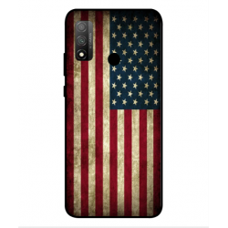 Coque Vintage America Pour Huawei P Smart 2020