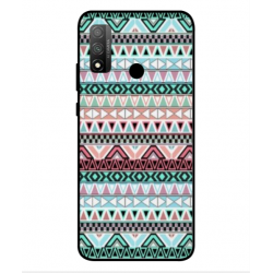 Coque Broderie Mexicaine Pour Huawei P Smart 2020