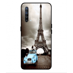 Oppo Find X2 Lite Vintage Eiffel Tower Case