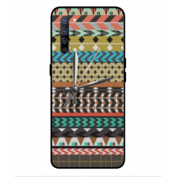 Oppo Find X2 Lite Mexican Embroidery With Clock Cover