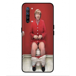 Oppo Find X2 Lite Angela Merkel On The Toilet Cover