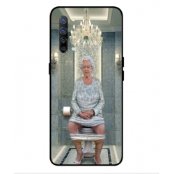 Oppo Find X2 Lite Her Majesty Queen Elizabeth On The Toilet Cover