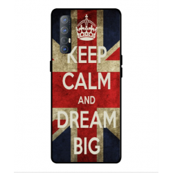 Coque Keep Calm And Dream Big Pour Oppo Find X2 Neo