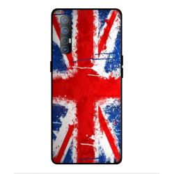 Coque UK Brush Pour Oppo Find X2 Neo